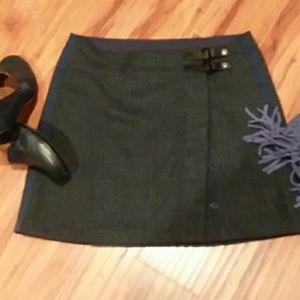 prAna wrap skirt